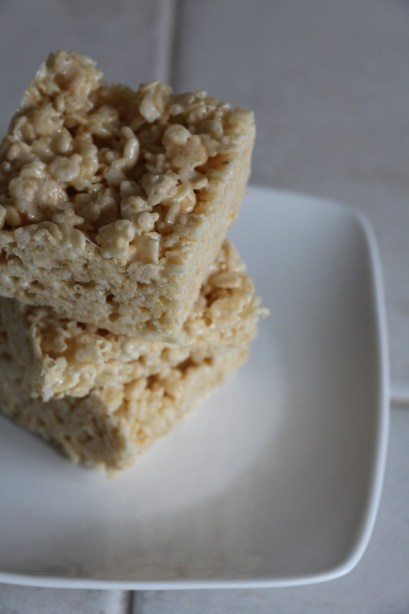 Vanilla Crispy Rice Treats