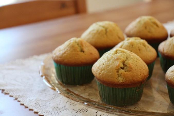 Fresh Ginger Muffins