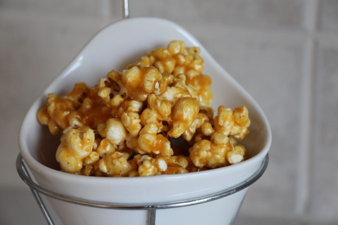 Spicy Caramel Corn