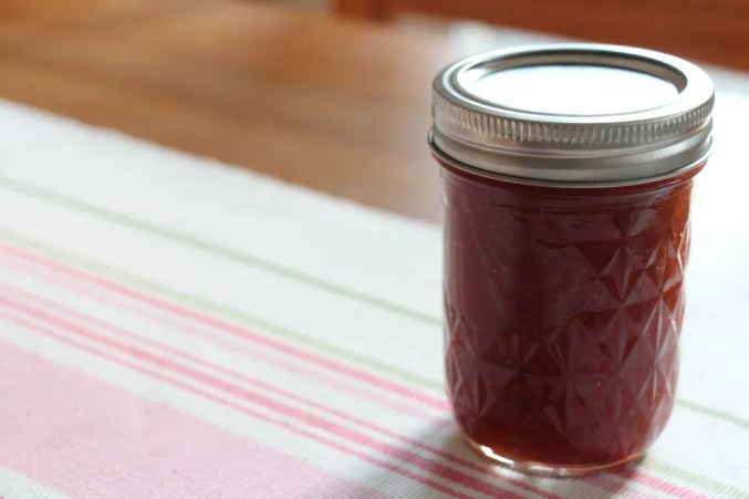 Rhubarb–Strawberry Jam
