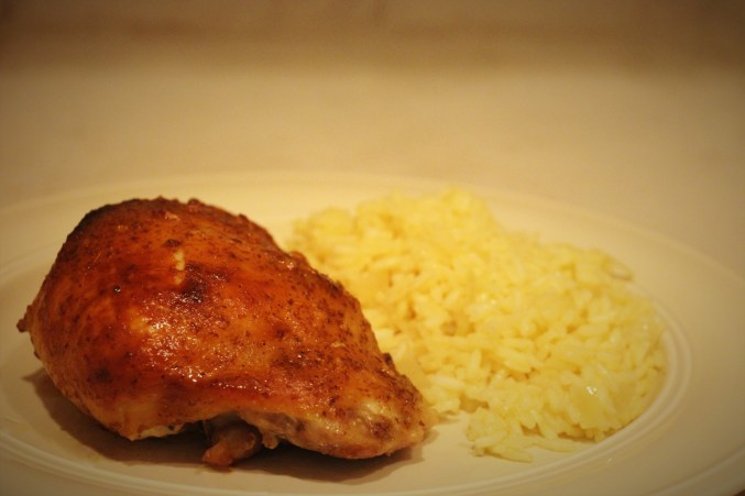 Maple-Mustard Chicken