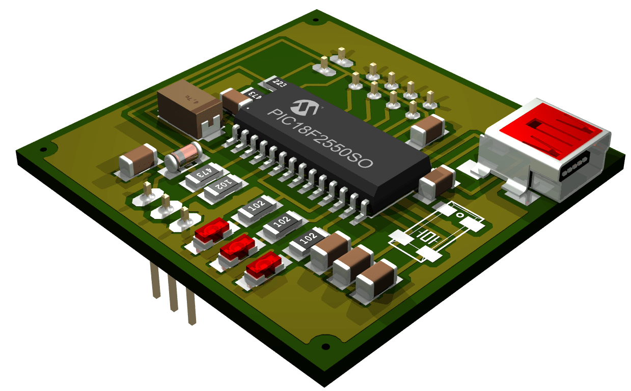 With Usb Circuit Board Parts