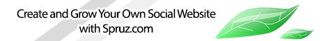 Create and Grow Your Own Social Website with Spruz.com