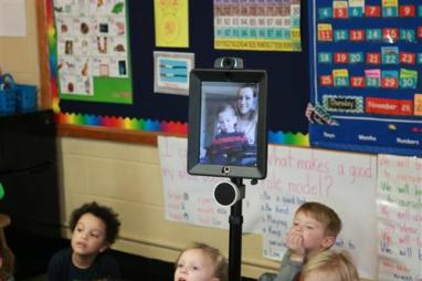 Caleb in Class