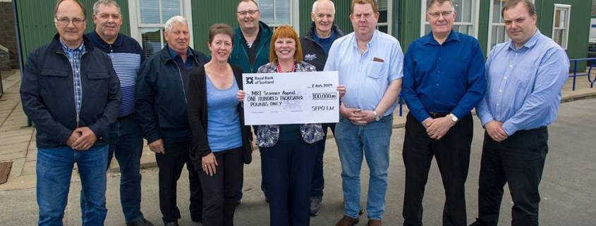 Pelagic fishermen to donate £100,000 to MRI Scanner Appeal