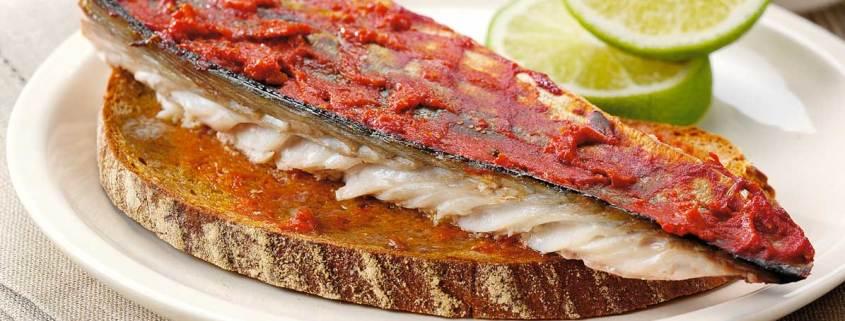 Fresh Mackerel on Toast