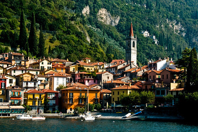 The small quaint town of Varenna.