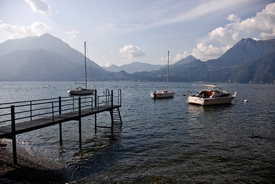 A look across the lake from Varenna.