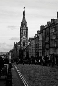 The streets of Edinburgh