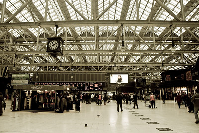 Central Station in Glasgow