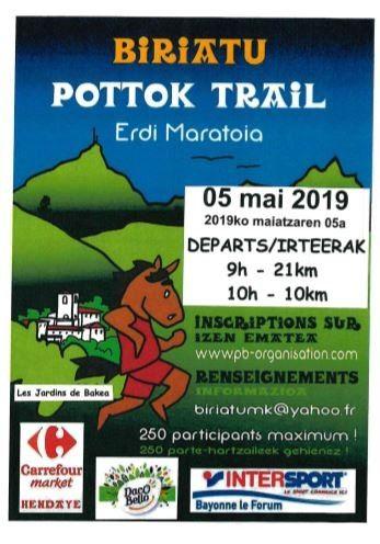 affiche biriatu pottok trail