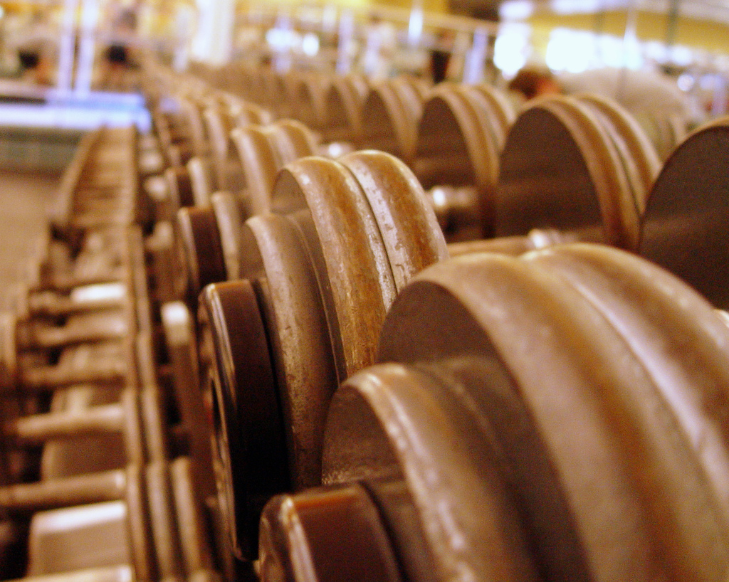 gym-dumbells