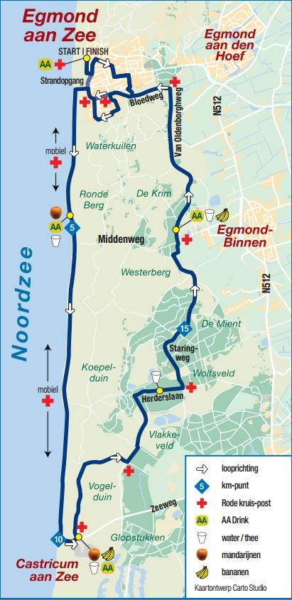 Egmond-Parcours