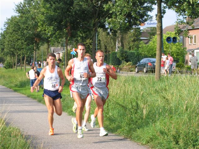 Hans en Martjin in Bels Lijntje 2004
