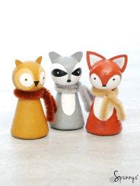 Animal peg dolls - painting ideas to inspire you  SPUNNYS