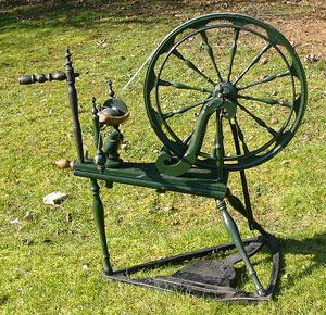 Karelian spinning wheel