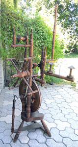 Dutch wheel back