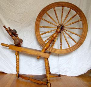 Wheel marked Charles Regeimbal