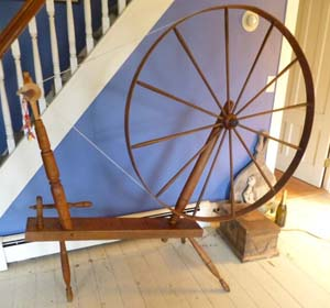 "Nora's ""S. MORISON"" great wheel"
