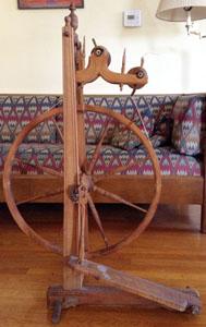 Double-flyer Swiss upright flax wheel