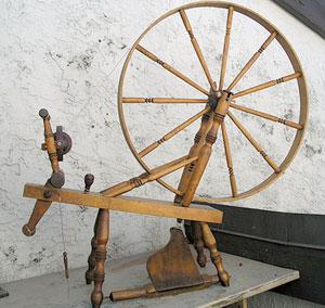 Flat-rim spinning wheel [#9]