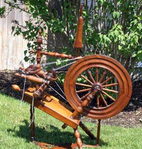 "Double-flyer wheel marked ""ALEXR McINTOSH 1798"""