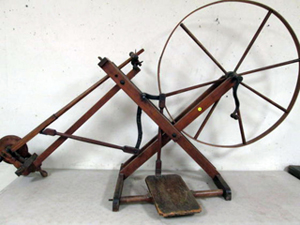 Henry Miller lever-action spinning wheel