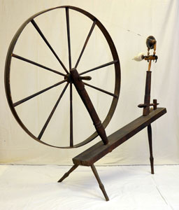 Row wheel in the collection of North Grenville Historical Society