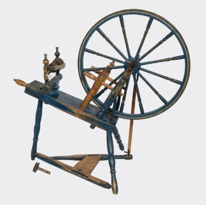 Gylland spinning wheel Style #3 is a rare hybrid wheel.