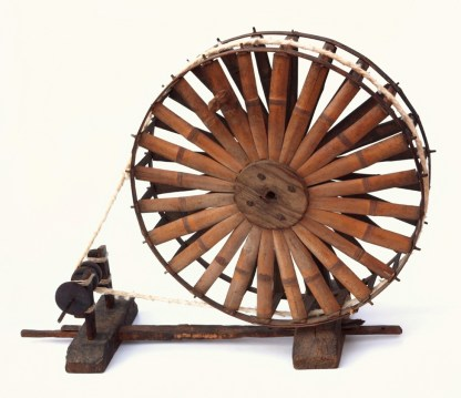 Small spindle wheel from Korea