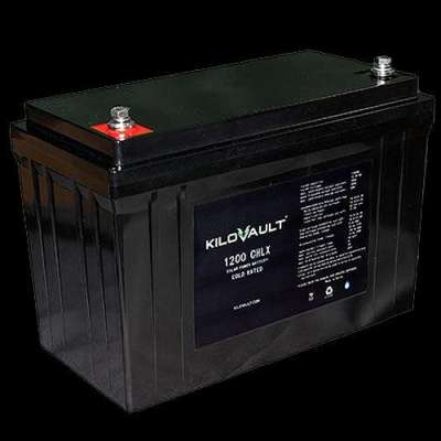 KiloVault unveils new 1200 watt-hour deep-cycle batteries