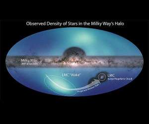 Astronomers have released a new celestial map of the outer parts of the Milky Way