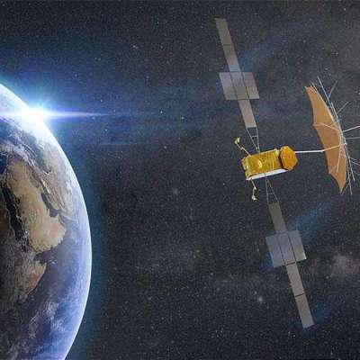 Space weather and solar blobs