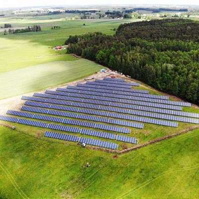 British army readies solar farm to reduce emissions