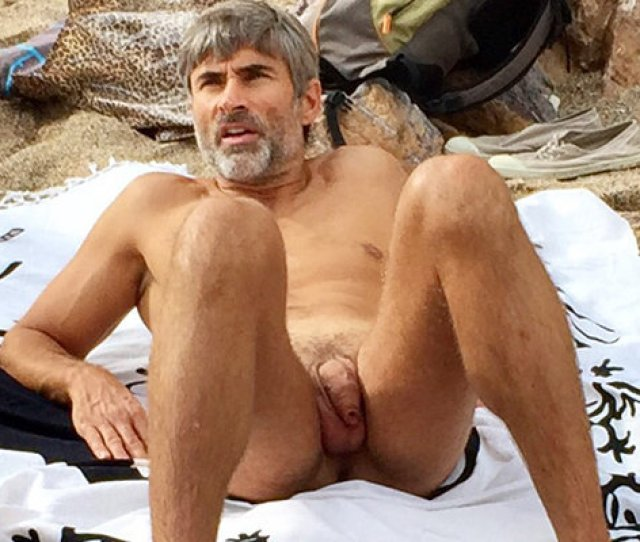 Uncut Mature Man Caught Over The Beach