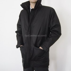 Black Weatherproof Bullet (IIIA) and Stab Proof Jacket A