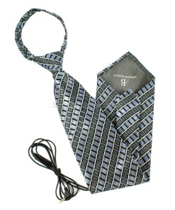 Tie Camera with Seperate Digital Video Recorder A