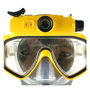 Underwater Mask Camera/DVR - Hi Resolution A