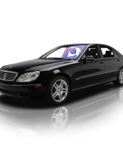 Armoured Mercedes S600-0