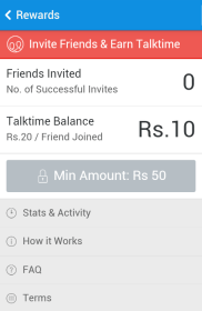 Hike Free Talktime Offer