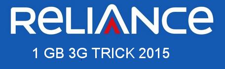 Reliance Free 3G Trick 2016