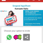 snapdeal invite and earn rupees