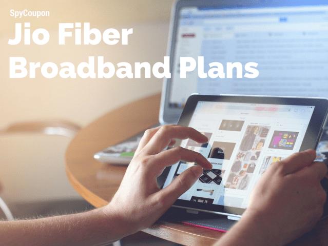 jio 4G broadband tariffs
