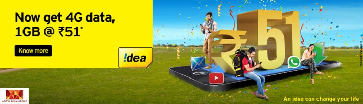 idea recharge offers