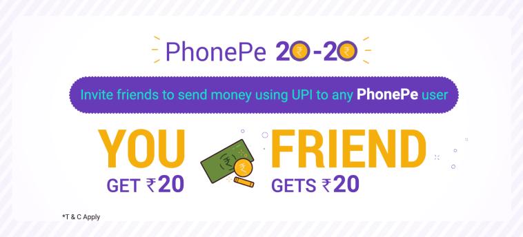 phone pe referral code