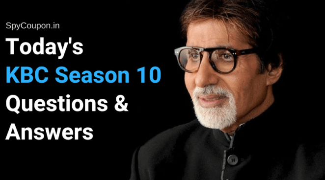 kbc season 10 questions and answers