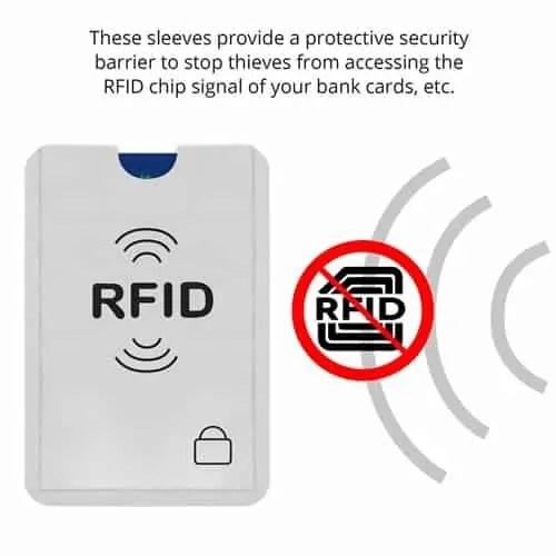 debit card wireless credit card blocker