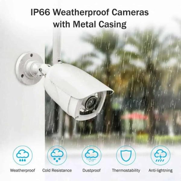 Professional wireless CCTV weather proof camera