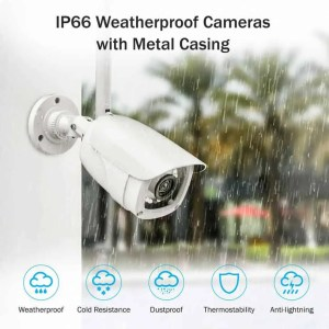 Professional wireless CCTV weather proof camera