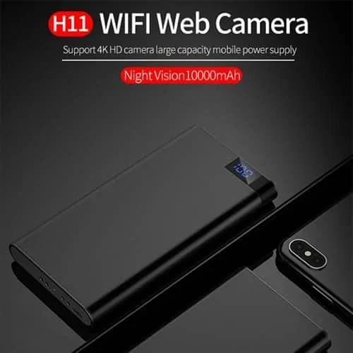 Spy phone power bank covert camera phone changer